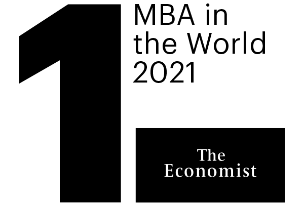 1st MBA in the World by The Economist Ranking