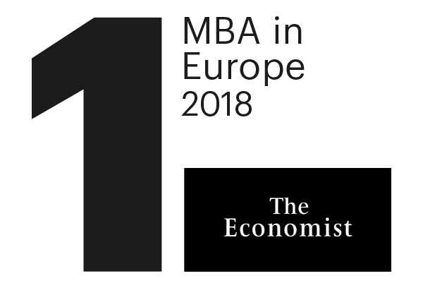 1st MBA in Europe The Economist Ranking
